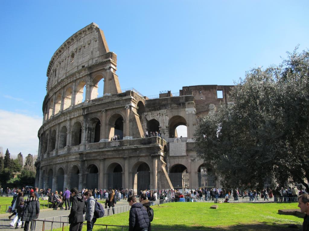 Immagine del Colosseo.