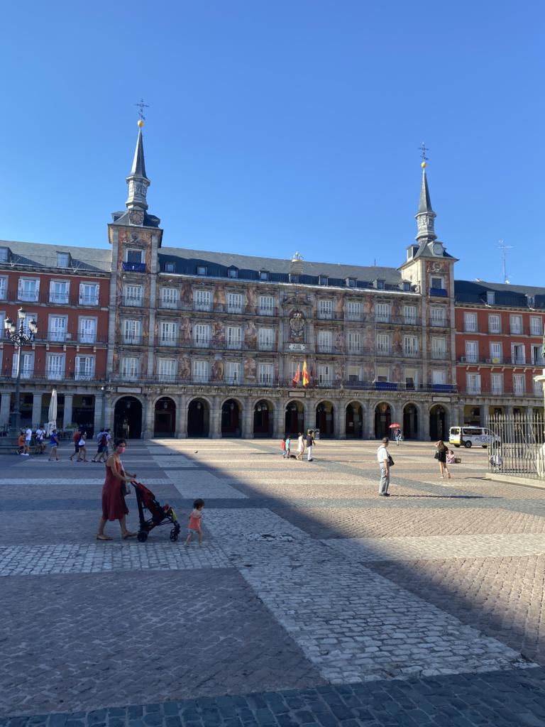 Viaggio a Madrid - Plaza Mayor