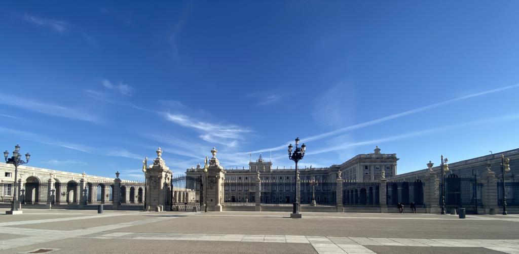 Viaggio a Madrid - Palacio Real