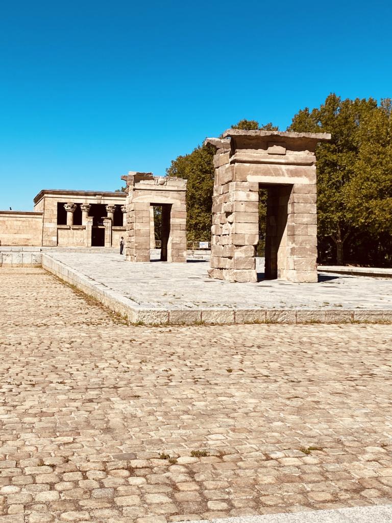 Viaggio a Madrid - Tempio di Debod