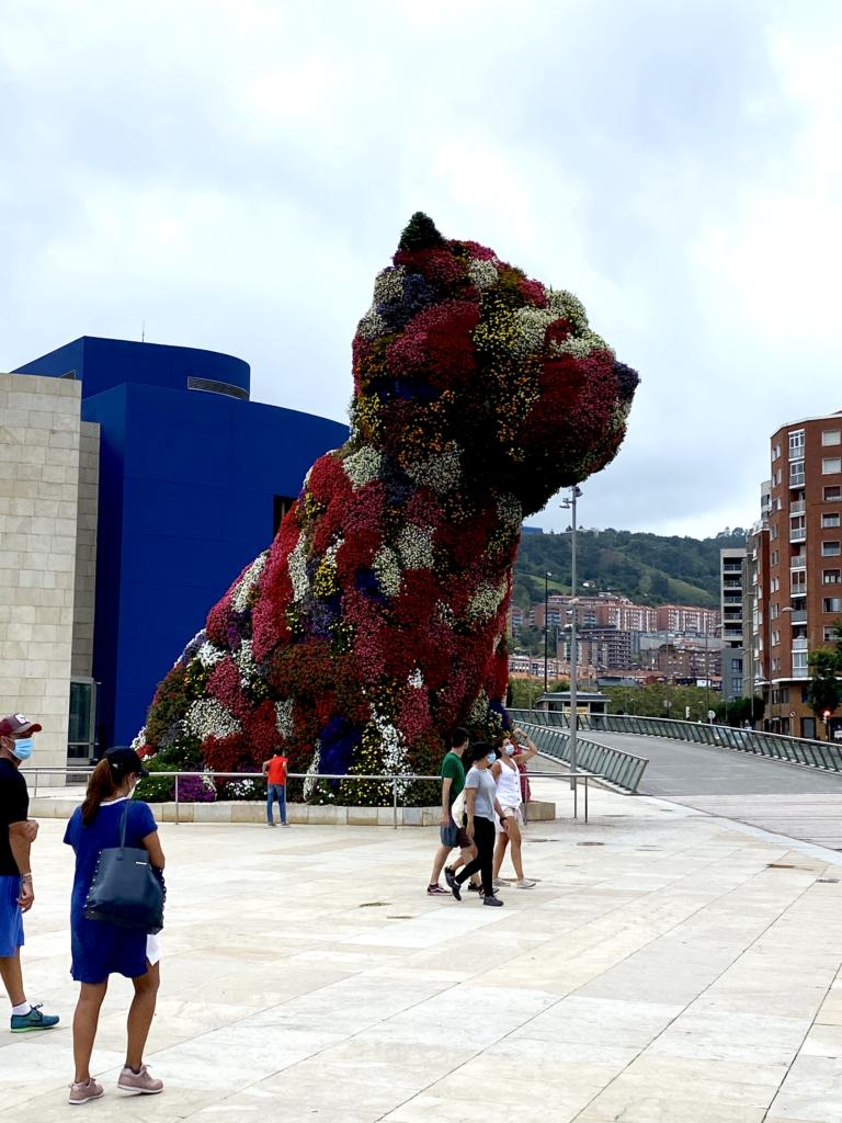 Viaggio a Bilbao - Puppy: museo Guggenheim