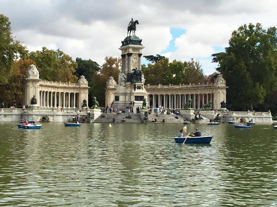 Viaggio a Madrid - Parque del Ritiro