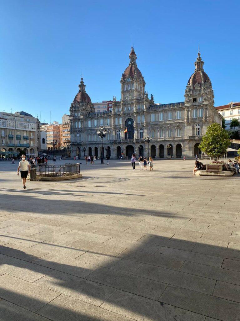 Viaggio in Galizia - Plaza de María Pita